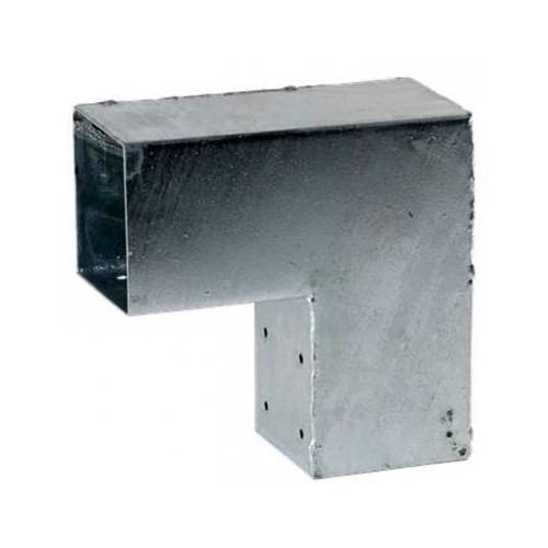 Pergola Eckverbinder für 3 Balken 71x71 mm