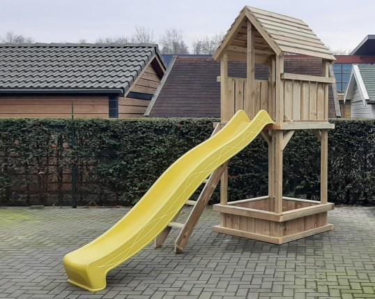 Spielturm 120 mit Sandkasten