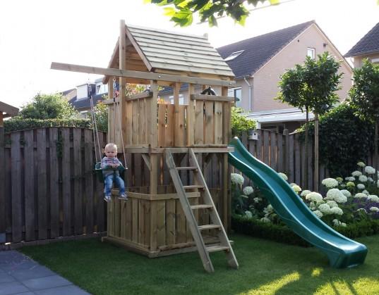 Spielturm 150 mit kleiner Balkon