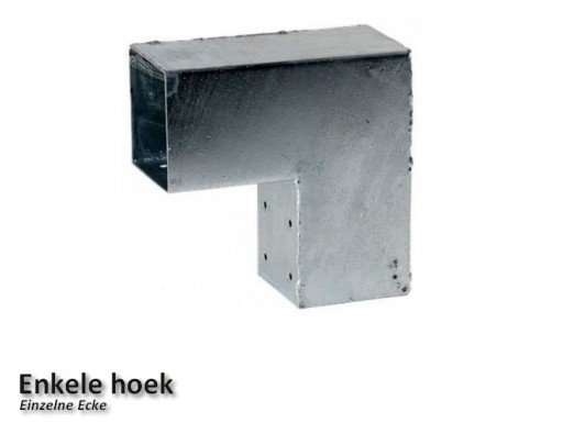 Pergola Eckverbinder 91x91mm