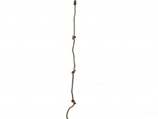 Kletterseil mit Knoten