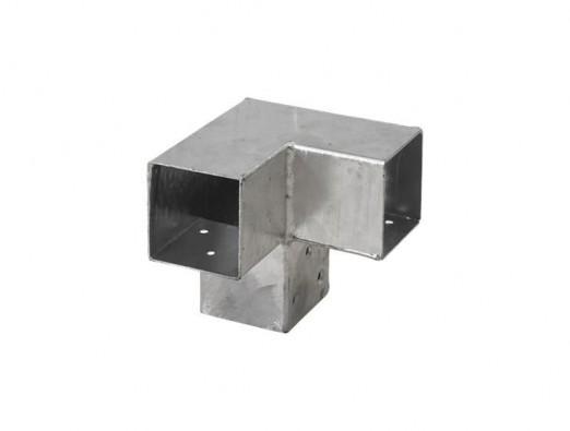 Pergola Eckverbinder für 3 Balken 91x91 mm