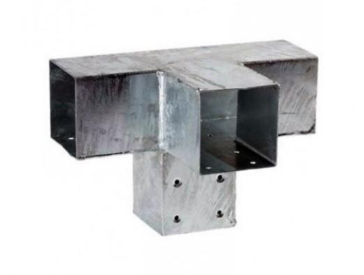 Pergola Eckverbinder für 4 Balken 71x71 mm