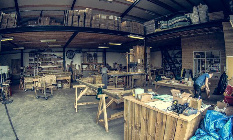 Werkstatt Spielturm Holland